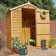 5 x 3 waltons overlap apex wooden garden shed waltons sheds
