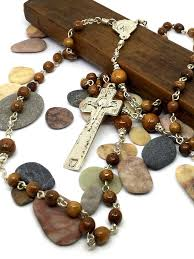 wooden rosaries handmade rosaries for sale heirloom rosaries