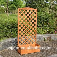 traliccio legno in legno per esterni giardino fioriera con traliccio buy product