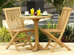 Patio Wooden Chairs Outside Wood Table And Chairs Patio Furniture Conversation