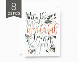 christmas card etsy