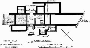 Baths Of Caracalla Floor Plan Romano British Somerset Part 3 Other Locations British History