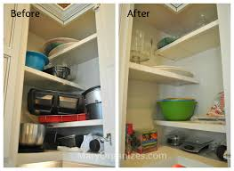 Organizing Kitchen Cabinets Organizing A Small Kitchen Home And Interior