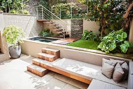 furniture cream outdoor bench cushions for minimalist back yard decor