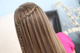 hairstyles for girl video waterfall braid combo hairstyle