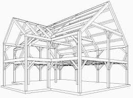 Post And Beam Floor Plans Residential Floor Plan Post And Beam Home