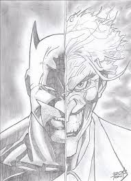 a batman and joker drawing i did hope you guys like it imgur
