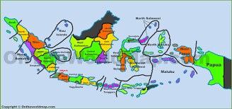 Map Java Administrative Map Of Indonesia