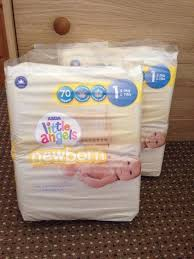 asda little angels newborn nappies size 1 in lymm cheshire