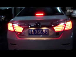 2015 toyota camry tail light 2012 2013 toyota camry led tail lights bmw style youtube