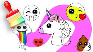 magic coloring pages emojis