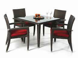 woven patio furniture patio set wicker