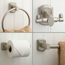 Bathroom Hardware Ideas Dunlap 4 Piece Bathroom Accessory Set Bathroom