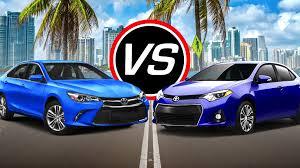 lexus es300h vs toyota camry hybrid 2016 toyota camry v6 vs corolla eco spec comparison youtube