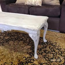 coffee table paris grey with black wax paris grey chalk paint