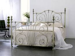 pretty design 10 metallic beds designs custom iron and metal metal