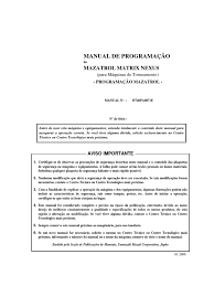 manual comando mazatrol