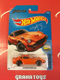 custom nissan 240z custom datsun 240z 174 orange 2017 wheels case h new 1