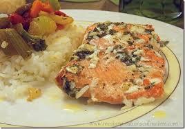 cuisiner du saumon au four filet de saumon au four mariné aux herbes aromatiques le