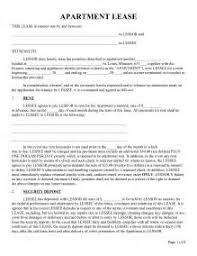 flat lease agreement template south africa sample application
