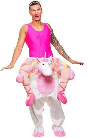 unicorn costume mens carry me unicorn costume