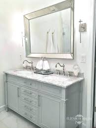 double vanity mirror taciturn silver gunmetal double vanity mirror