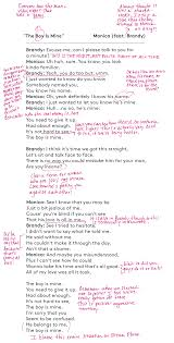 the boy is mine lyrics brandy and monica song meaning