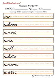 cursive letters ww a practicar pinterest cursive cursive