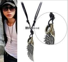 mens leather necklace chains images Cheap leather necklace mens find leather necklace mens deals on jpg