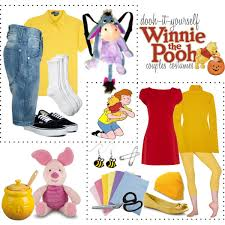 Winnie Pooh Halloween Costume Dooh Winnie Pooh Couples Costumes