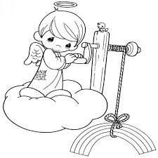 precious moments angels coloring pages colorear colorear