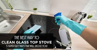 How To Clean A Glass Top Cooktop Top 5 Best Way To Clean Glass Top Stove For 2016