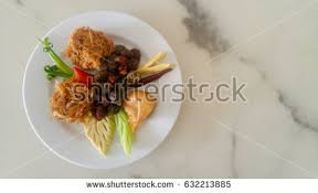 cha e cuisine royal cuisine kao chae cooked stock photo 631507670