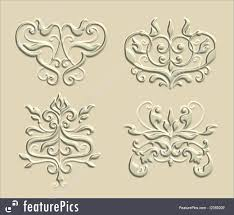 illustration of 3d ornaments 7