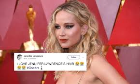 jennifer lawrence hair co or for two toned pixie jennifer lawrence s 2018 oscars look is a sparkling masterpiece