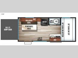 Cascade Floor Plan Cherokee Cascade Toy Hauler Travel Trailer Rv Sales 5 Floorplans
