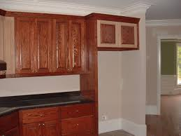 Kitchen Cabinet Top Molding by Cabinets Around Refrigerator Kitchen Design Regarding Kitchen