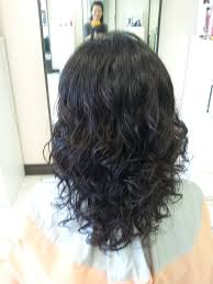hairstyles with perms for middle length hair digital perm for medium length hair tight curls yelp