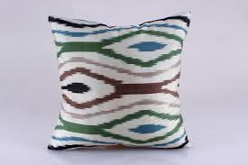 ikat pillow hand woven ikat pillow cover ikat throw pillows