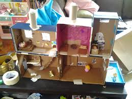 How To Make Dollhouse Furniture From Recycled Materials 13 Cardboard Dollhouse Plans Guide Patterns