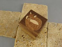 box rings images Buy a hand crafted inlaid fox engagement ring box with free jpg