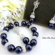 navy jewelry shop navy blue bridal jewelry on wanelo