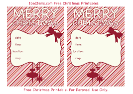 templates for xmas invitations invitation xmas template new printable holiday invitations etame