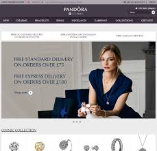 pandora jewelry online more male customers for pandora after opening online stores