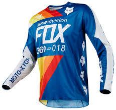 fox motocross shirt fox racing 360 draftr jersey cycle gear