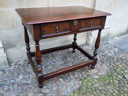 Yew Side Table Late 17th Century Yew Wood Side Table