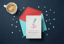 15 best free invitation greeting card mockups psd graphiceat