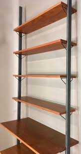 interior wood shelf system small wooden shelving unit office