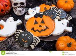 halloween cookies stock photo image 44663380