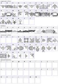 free ornaments font fonts4free